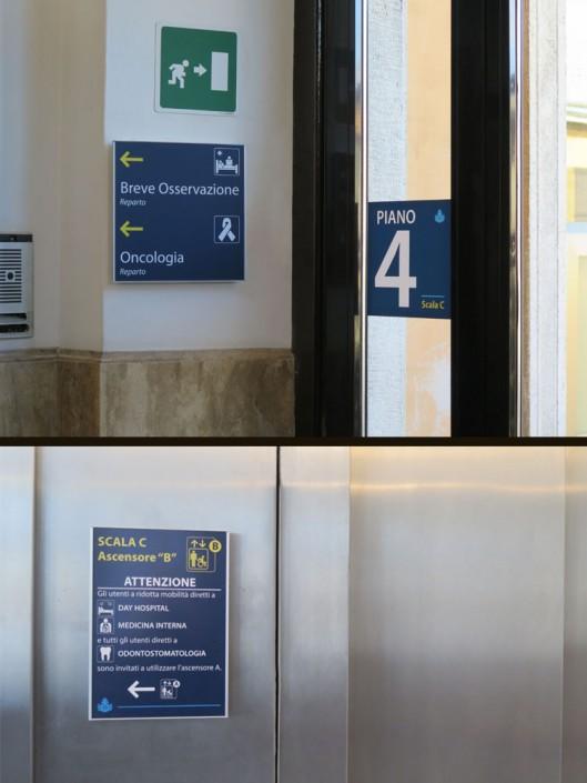 segnaletica ospedale