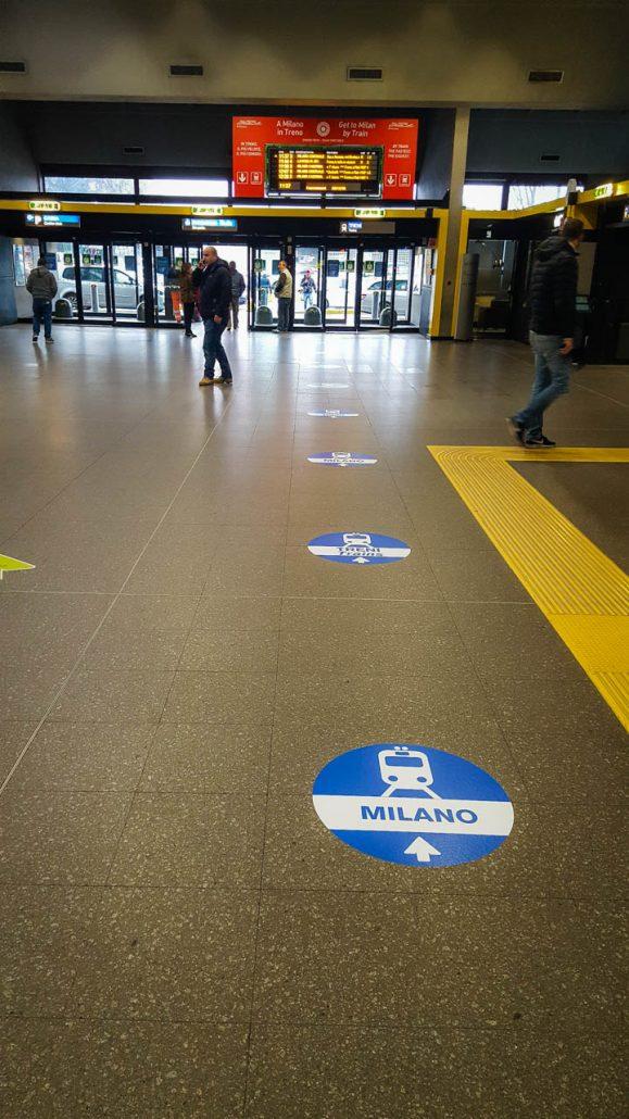 Modular Signage For Milan Malpensa Airport Seberg